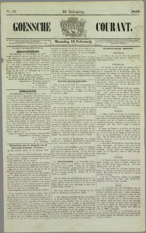 Goessche Courant 1859-02-14