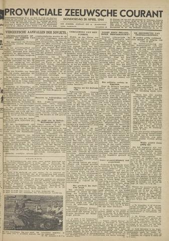 Provinciale Zeeuwse Courant 1944-04-20