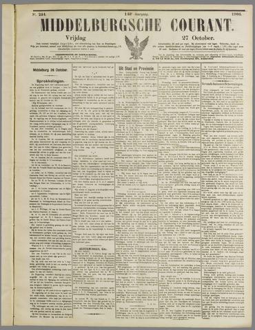 Middelburgsche Courant 1905-10-27
