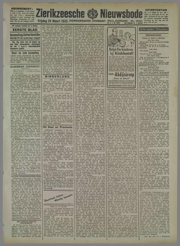 Zierikzeesche Nieuwsbode 1933-03-24
