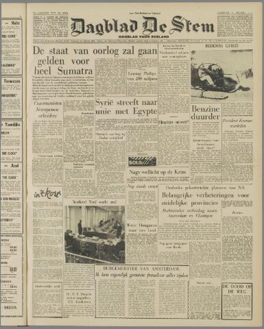 de Stem 1957-01-05