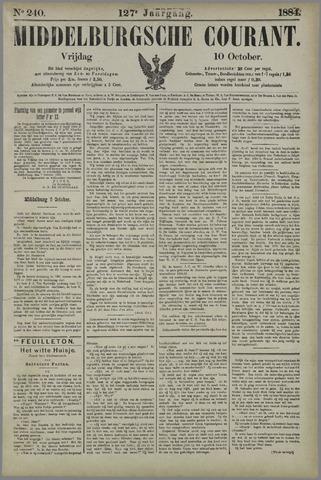 Middelburgsche Courant 1884-10-10