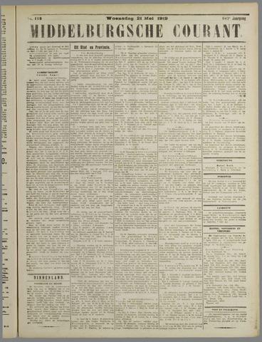 Middelburgsche Courant 1919-05-21