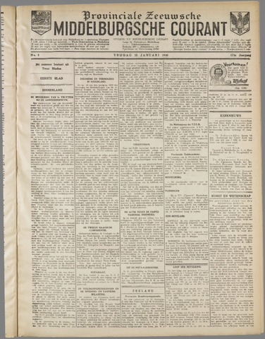 Middelburgsche Courant 1930-01-10
