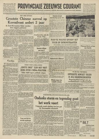 Provinciale Zeeuwse Courant 1953-07-15