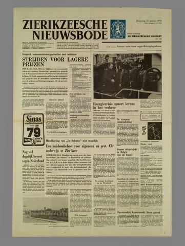Zierikzeesche Nieuwsbode 1974-01-17