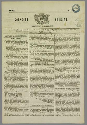 Goessche Courant 1850-02-28