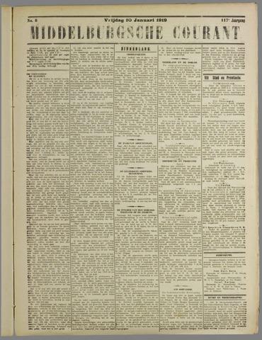 Middelburgsche Courant 1919-01-10