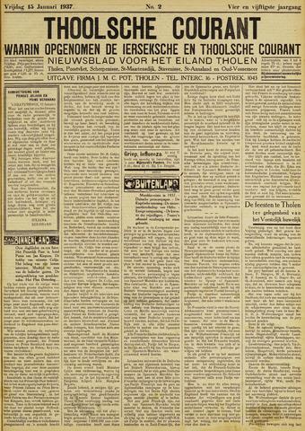 Ierseksche en Thoolsche Courant 1937-01-15