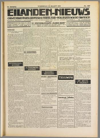 Eilanden-nieuws. Christelijk streekblad op gereformeerde grondslag 1939-03-29