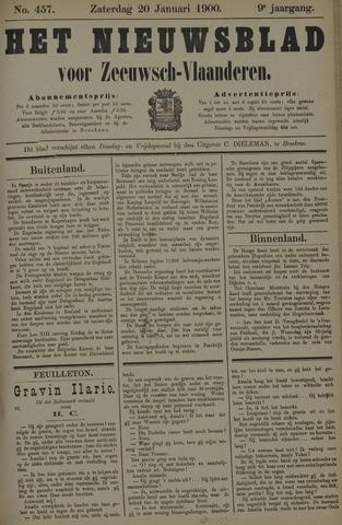 Nieuwsblad voor Zeeuwsch-Vlaanderen 1900-01-20