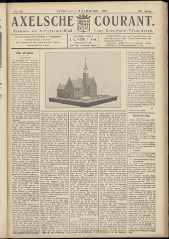 Axelsche Courant 1937-11-09