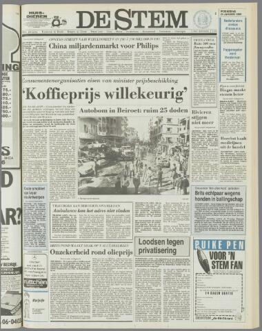 de Stem 1986-01-22