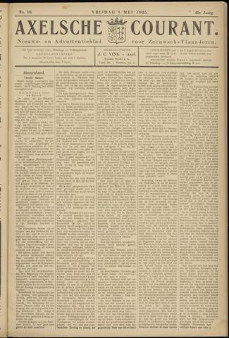 Axelsche Courant 1925-05-08