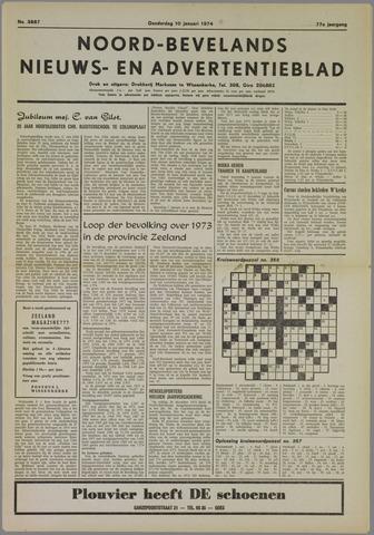 Noord-Bevelands Nieuws- en advertentieblad 1974-01-10