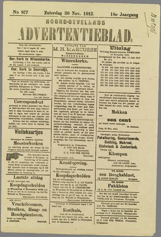Noord-Bevelands Nieuws- en advertentieblad 1912-11-30