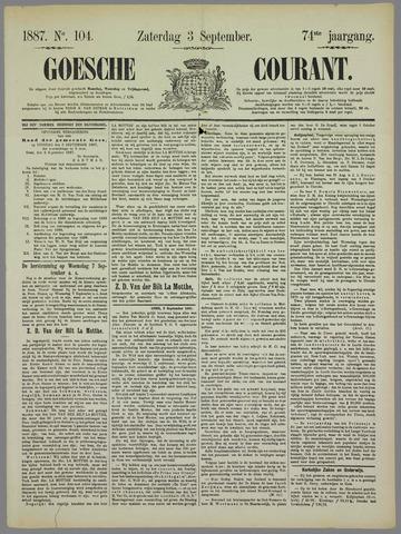 Goessche Courant 1887-09-03