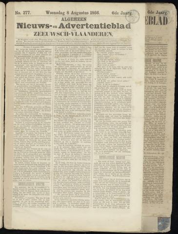 Ter Neuzensche Courant. Algemeen Nieuws- en Advertentieblad voor Zeeuwsch-Vlaanderen / Neuzensche Courant ... (idem) / (Algemeen) nieuws en advertentieblad voor Zeeuwsch-Vlaanderen 1866-08-08