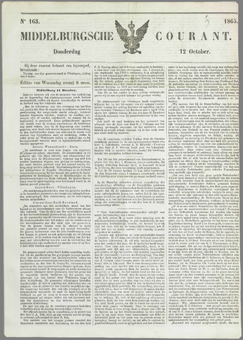 Middelburgsche Courant 1865-10-12