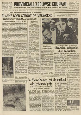 Provinciale Zeeuwse Courant 1960-04-11