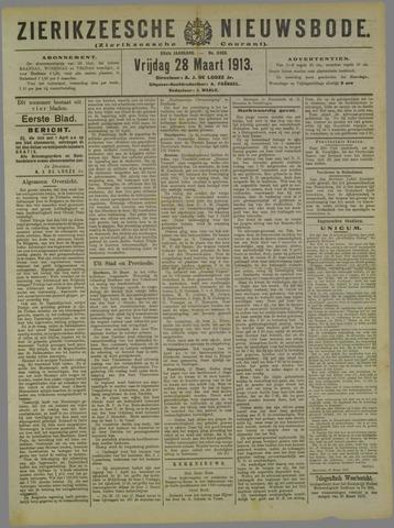 Zierikzeesche Nieuwsbode 1913-03-28