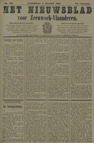 Nieuwsblad voor Zeeuwsch-Vlaanderen 1901-03-02