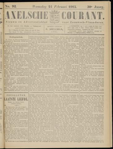 Axelsche Courant 1915-02-24