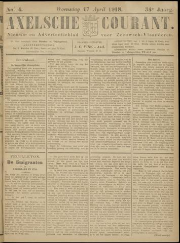 Axelsche Courant 1918-04-17