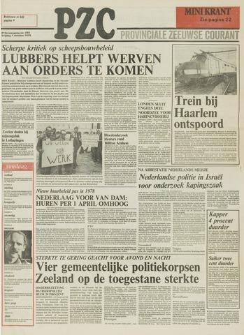 Provinciale Zeeuwse Courant 1976-10-01