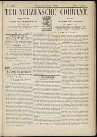 Ter Neuzensche Courant. Algemeen Nieuws- en Advertentieblad voor Zeeuwsch-Vlaanderen / Neuzensche Courant ... (idem) / (Algemeen) nieuws en advertentieblad voor Zeeuwsch-Vlaanderen 1880-05-19
