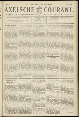 Axelsche Courant 1928-12-14