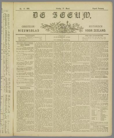 De Zeeuw. Christelijk-historisch nieuwsblad voor Zeeland 1895-03-23