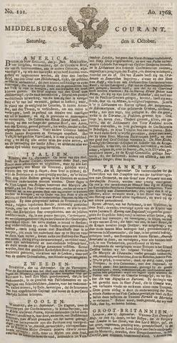 Middelburgsche Courant 1768-10-08