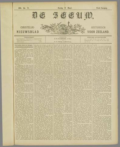De Zeeuw. Christelijk-historisch nieuwsblad voor Zeeland 1896-03-31