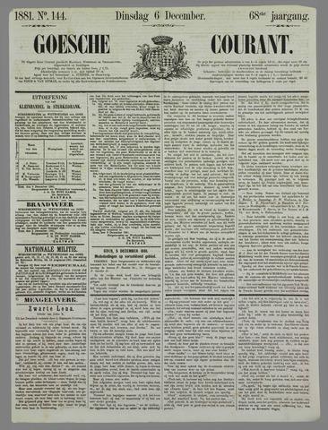 Goessche Courant 1881-12-06
