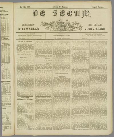 De Zeeuw. Christelijk-historisch nieuwsblad voor Zeeland 1895-08-17