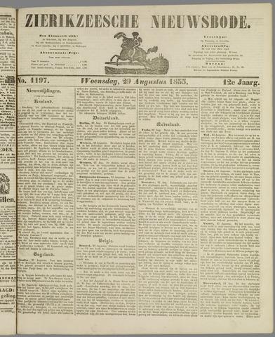 Zierikzeesche Nieuwsbode 1855-08-29
