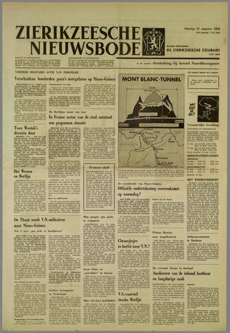 Zierikzeesche Nieuwsbode 1962-08-14