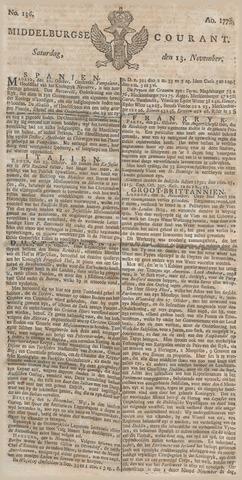 Middelburgsche Courant 1779-11-13