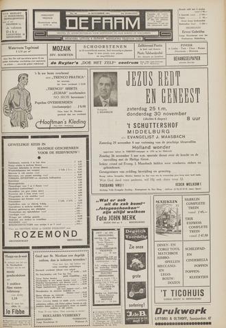 de Faam en de Faam/de Vlissinger 1961-11-24