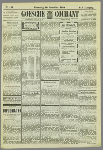 Goessche Courant 1929-11-20