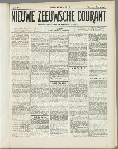 Nieuwe Zeeuwsche Courant 1906-06-12