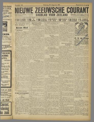 Nieuwe Zeeuwsche Courant 1921-08-20