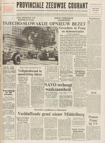Provinciale Zeeuwse Courant 1968-08-22