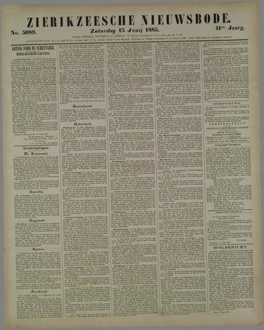 Zierikzeesche Nieuwsbode 1885-06-13