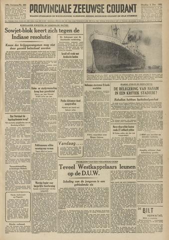 Provinciale Zeeuwse Courant 1952-12-02