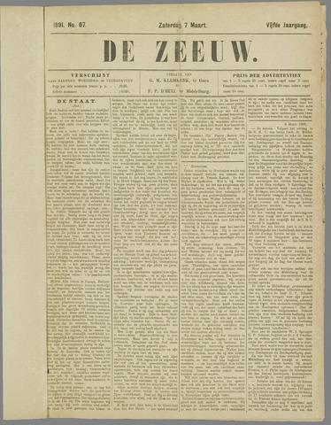De Zeeuw. Christelijk-historisch nieuwsblad voor Zeeland 1891-03-07
