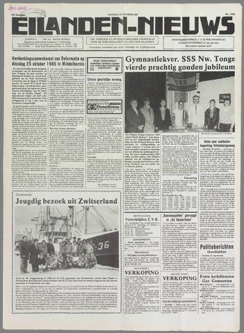 Eilanden-nieuws. Christelijk streekblad op gereformeerde grondslag 1985-10-22