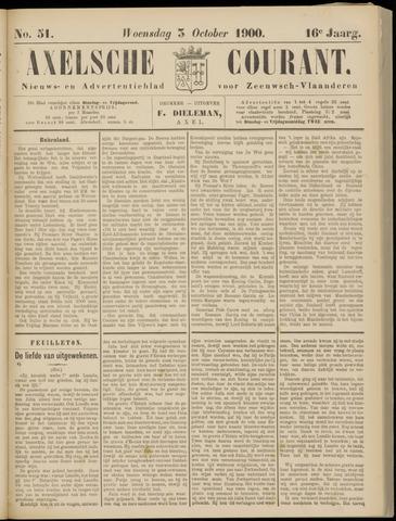 Axelsche Courant 1900-10-03