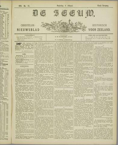 De Zeeuw. Christelijk-historisch nieuwsblad voor Zeeland 1896-02-06